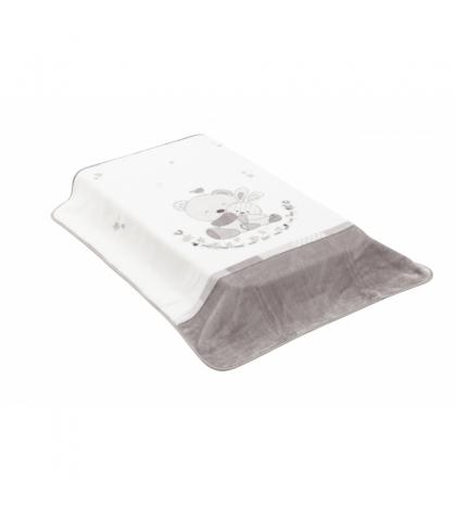 CŠpanielska deka 80 x 110 cm TEAM sivá Cambrass