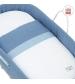 CAMBRASS Prútená prenosná detská postieľka ASTRA mmodrá