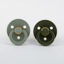 BIBS cumlíky -sage-hunter-green- veľkosť 1
