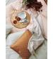 Done by Deer posteľné obliečky Balloon Baby zlaté