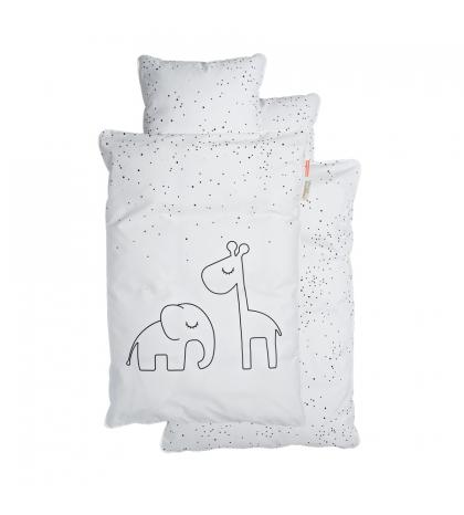 Done by Deer Obliečky Dreamy bodka baby biele