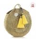 Cambrass Plážová taška 10X40X40 CM žltý strapec