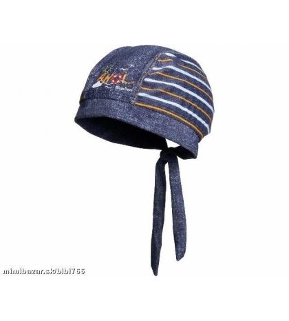 PLAYSHOES -Detská čiapka s UV ochranou Ahoi 51 cm