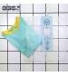 KiETLA plavky s UV ochranou - top zelený