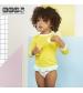 KiETLA plavky s UV ochranou - top žltý