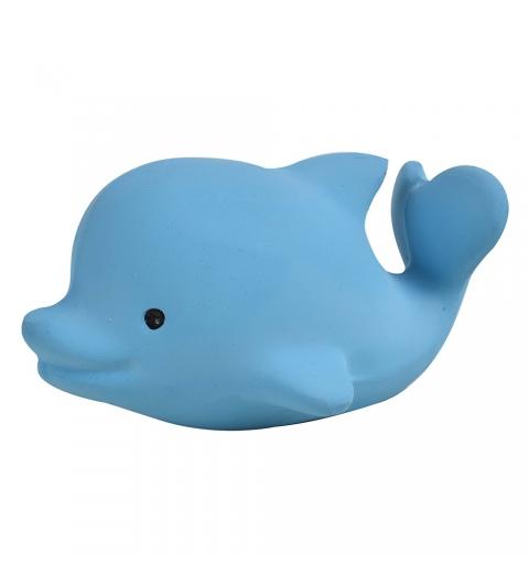 Tikiri Ocean – hrkálka a hryzátko z prírodnej gumy-delfín