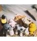 Tikiri Farma – hrkálka a hryzátko z prírodnej gumy-kravička