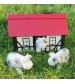 Tikiri Farma – hrkálka a hryzátko z prírodnej gumy-ovečka