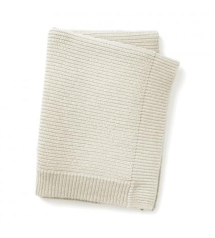 Elodie Details Vlnená deka Vanilla white