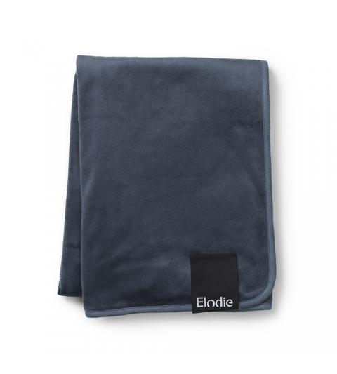Elodie Details Sametová deka Juniper Blue