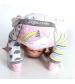 Zoocchini Set legínky a ponožky Jednorožec Allie 12 - 18 m