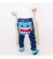 Zoocchini Set legínky a ponožky Žralok 6 - 12 m