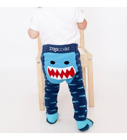 Zoocchini Set legínky a ponožky Žralok 12 - 18 m