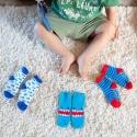 Zoocchini Set 3ks protišmykové ponožky Žralok 0 - 24 m