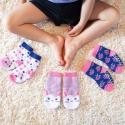 Zoocchini Set 3ks protišmykové ponožky zajačik 0 - 24 m
