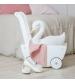 Jabadabado Vozík pre bábiky biely