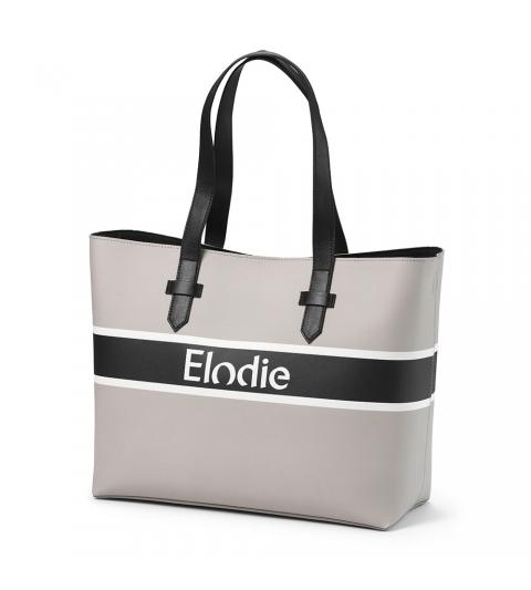 Elodie Details Taška Saffiano Logo tote