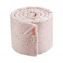 Done by Deer mantinel do postieľky 350 cm- Dreamy dots ružový