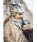 Bavlnená čiapka Gilded Faded Rose  Elodie Details
