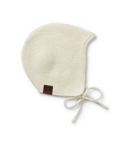 Elodie Details kojenecká čiapočka 6-12 mesiacov Vanilla white