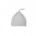 Effiky Novorodenecká čiapka 0-1 m šedá s bielymi bodkami