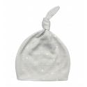 EffikyNovorodenecká čiapka šedá s bodkami 0-1 mes. by M. Socha