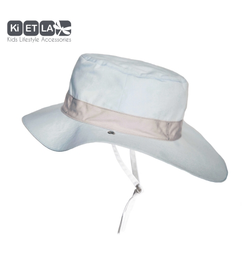 KiETLA klobúčik 6-12 s UV ochranou-panama-sky