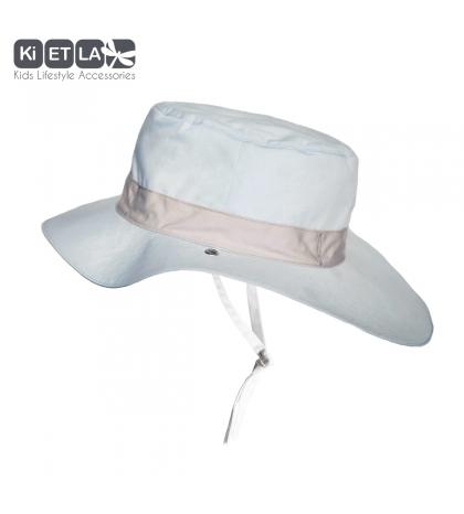 KiETLA klobúčik 12-18 s UV ochranou-panama-sky