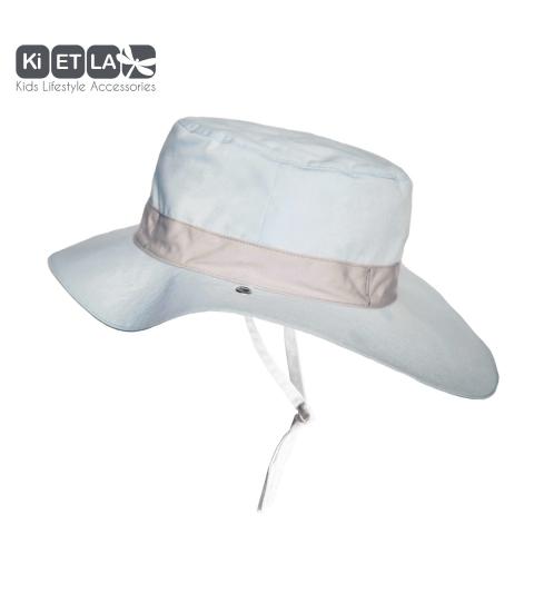 KiETLA klobúčik 6-9 rokov s UV ochranou-panama-sky