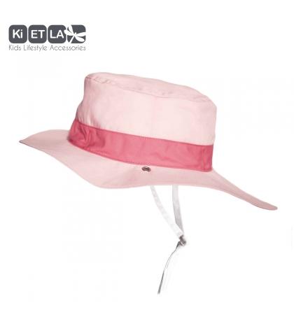 KiETLA klobúčik 6-12 m s UV ochranou-panama-pink
