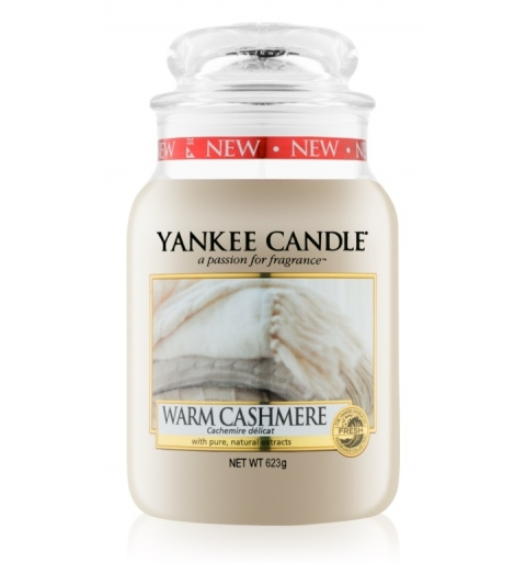 YANKEE CANDLE WARM CASHMERE VEĽKÁ SVIEČKA