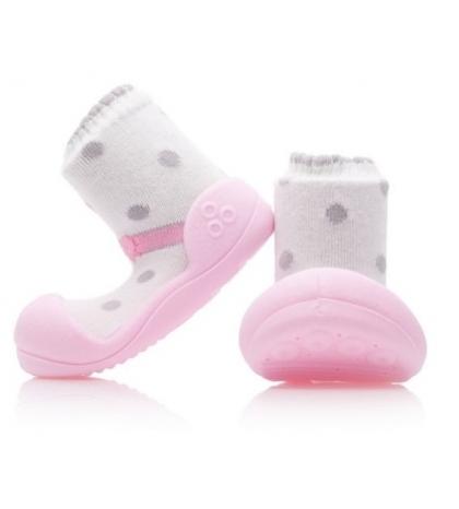 Attipas Detské topánočky S  Ballet Pink