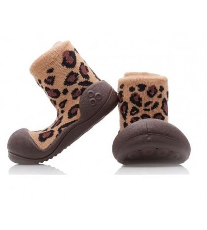 Attipas Detské topánočky veľkosť  S Animal Leopard(BR)