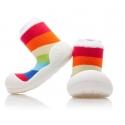 Attipas Detské topánočky veľkosť M Rinbow White