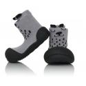 Attipas Detské topánočky veľkosť  M Cutie gray