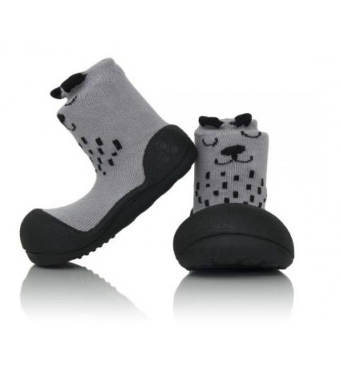 Attipas Detské topánočky veľkosť  L Cutie gray