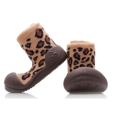 Attipas Detské topánočky veľkosť  L Animal Leopard(BR)