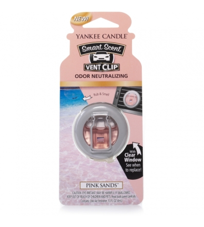 YANKEE CANDLE PINK SAND VENT CLIP
