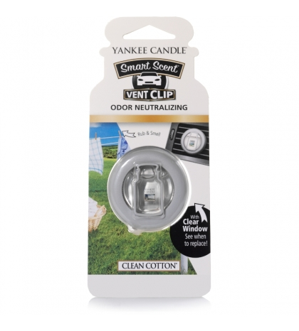 YANKEE CANDLE CLEAN COTTON VENT CLIP