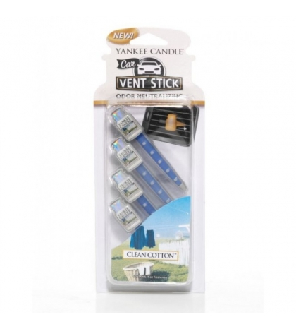 YANKEE CANDLE CLEAN COTTON VENT STICK