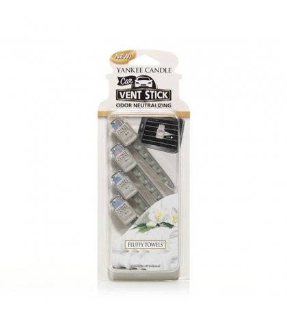 YANKEE CANDLE SFLUFFY TOWELS VENT STICK