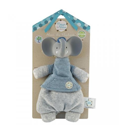 Meiya&Alvin maznáčik/hryzátko slonik alvin backer