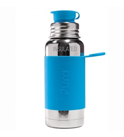 Pura® TERMO fľaša so športovým uzáverom 475ml aqua