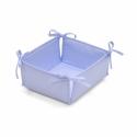 Cambrass Polstrovaný košík modrý