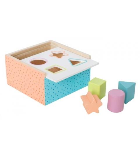 Jabadabado Triediaci box farebný